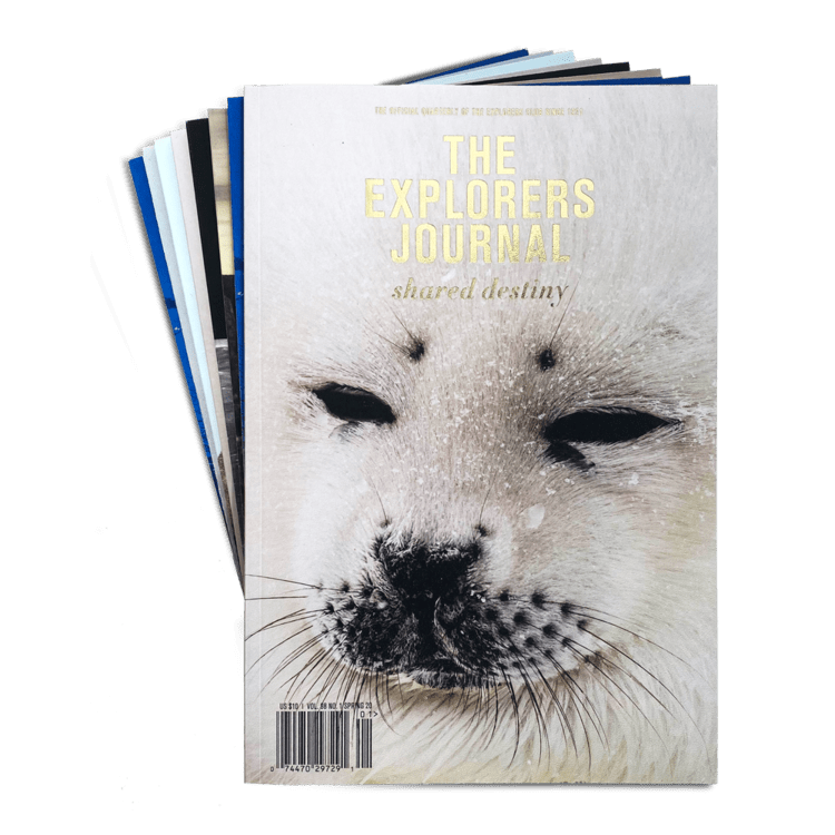 The Explorers Journal cover with seal